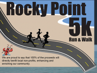 The 2nd Annual Rocky Point 5K is scheduled for May 10.