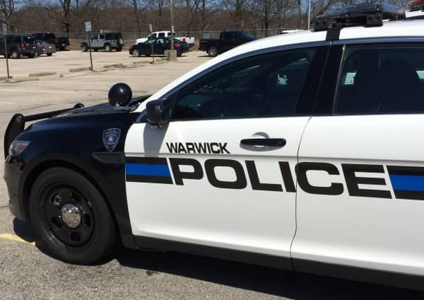 The Warwick Police Department is located at 99 Veterans Memorial Drive.