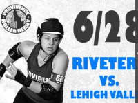 A roller derby doubleheader is set for Saturday night at Thayer Arena. CREDIT: Providence Roller Derby website