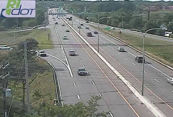 CREDIT: RIDOT] A view of Rte. 37 at the I-95 interchange in Warwick, RI.