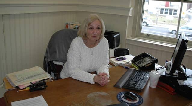 [CREDIT: Rob Borkowski] Warwick City Clerk Judy Wild.