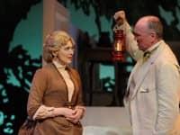 [CREDIT: Mark Turek] Kristin Wetherington and Kevin B McGlynn portray Helen Keller's parents, Captain Keller and Kate Keller.