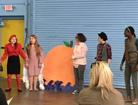 "[CREDIT: Eleanor Acton] A scene from the Club at Cooper's  ""James and the Giant Peach,"" playing Friday, April 12 at 6 p.m."